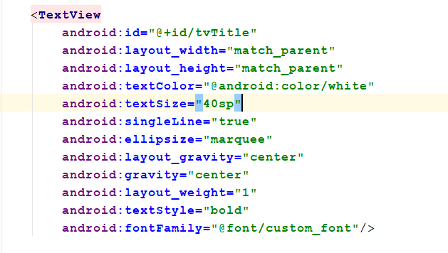 marquee text color change